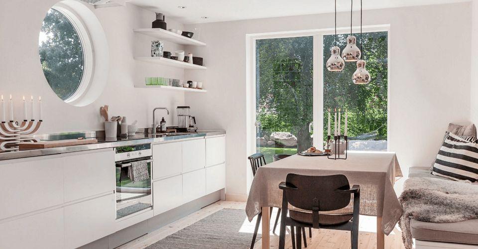 Скандинавский стиль в дизайне кухни